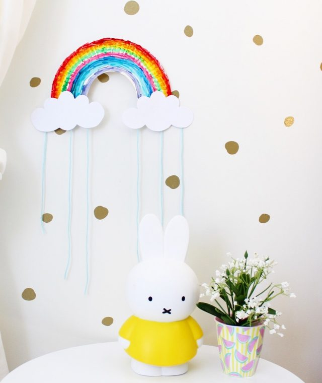 Rainbow Craft for Kids | kids Bedroom Ideas | Nursery Art, Kids Room Decor