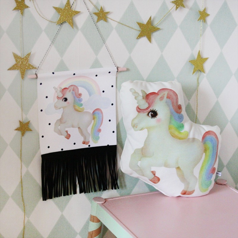 @dessindesign handmade unicorn decor for kids