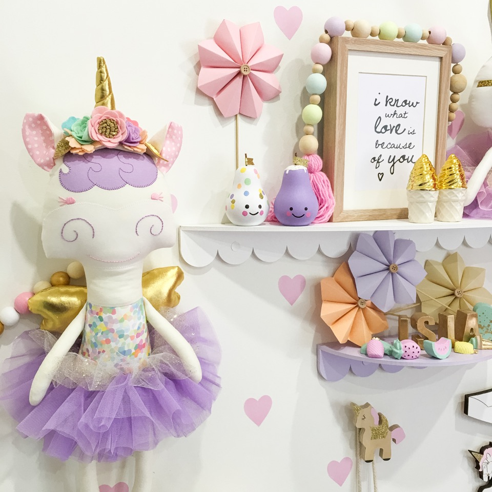 Super Sweet Unicorns Collaboration by @rhapsodyandthread and @feltinbloom