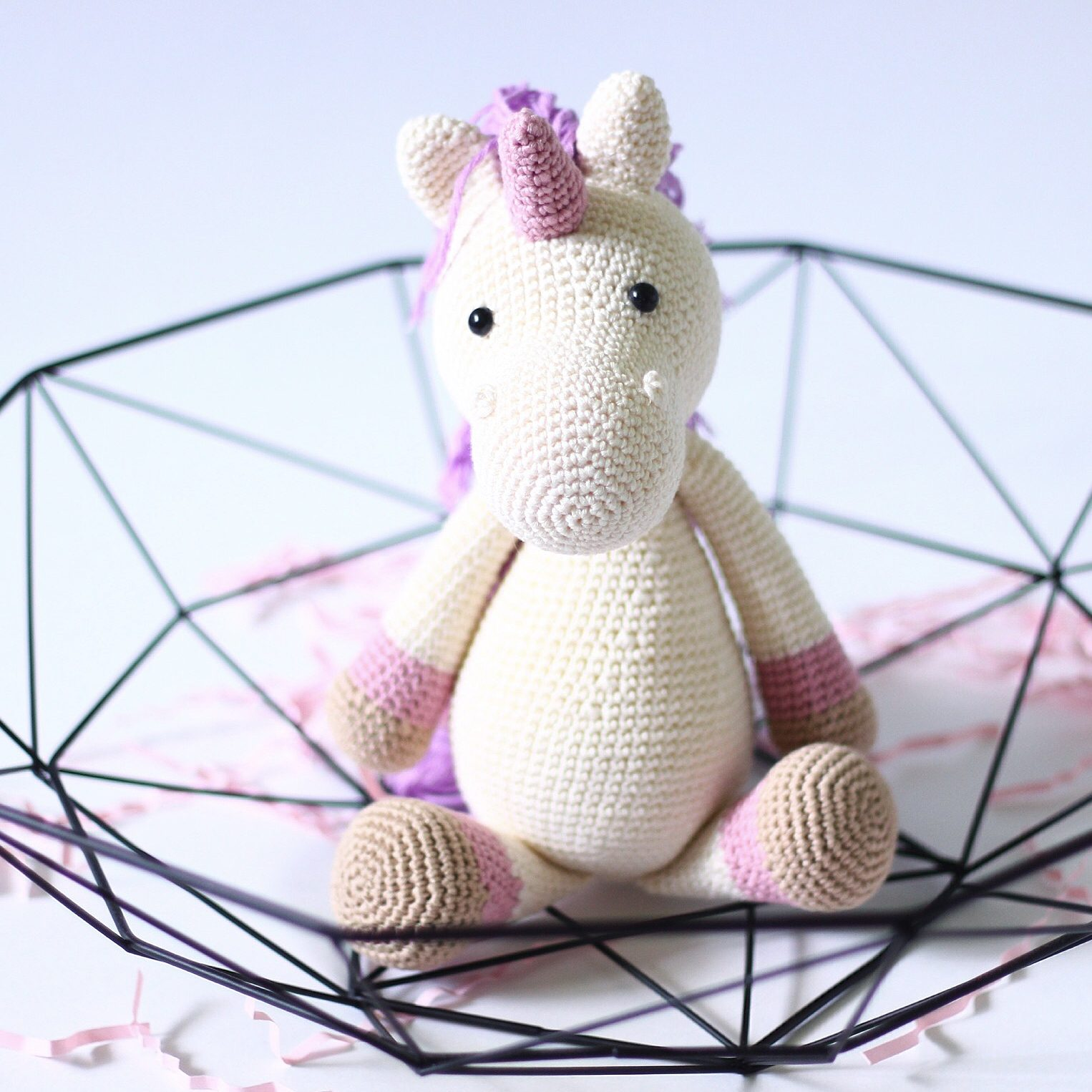 Crocheted cuteness by @ikkvistore