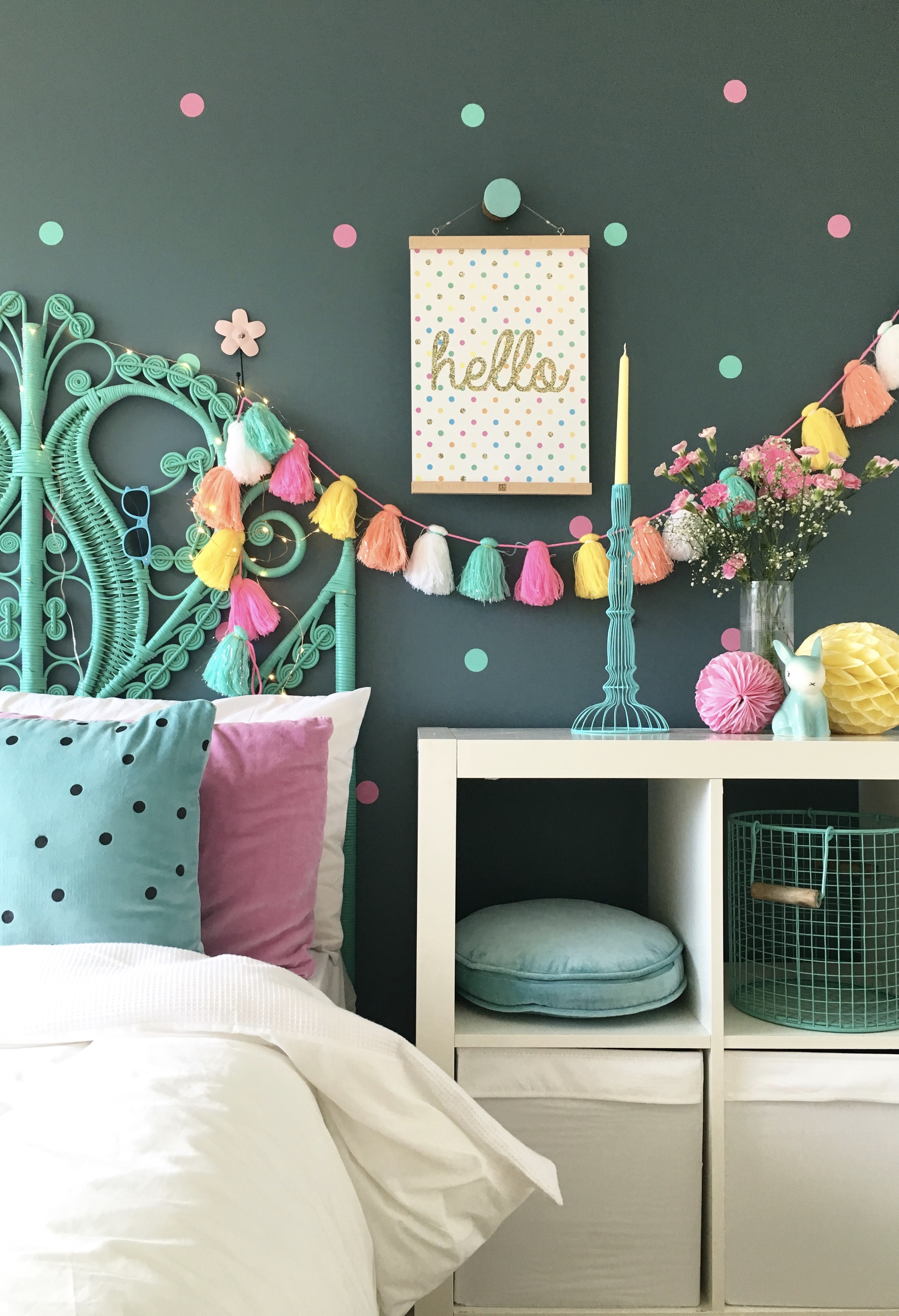 Bedroom and Interior Inspiration for kids – my daughter Summer's bedroom