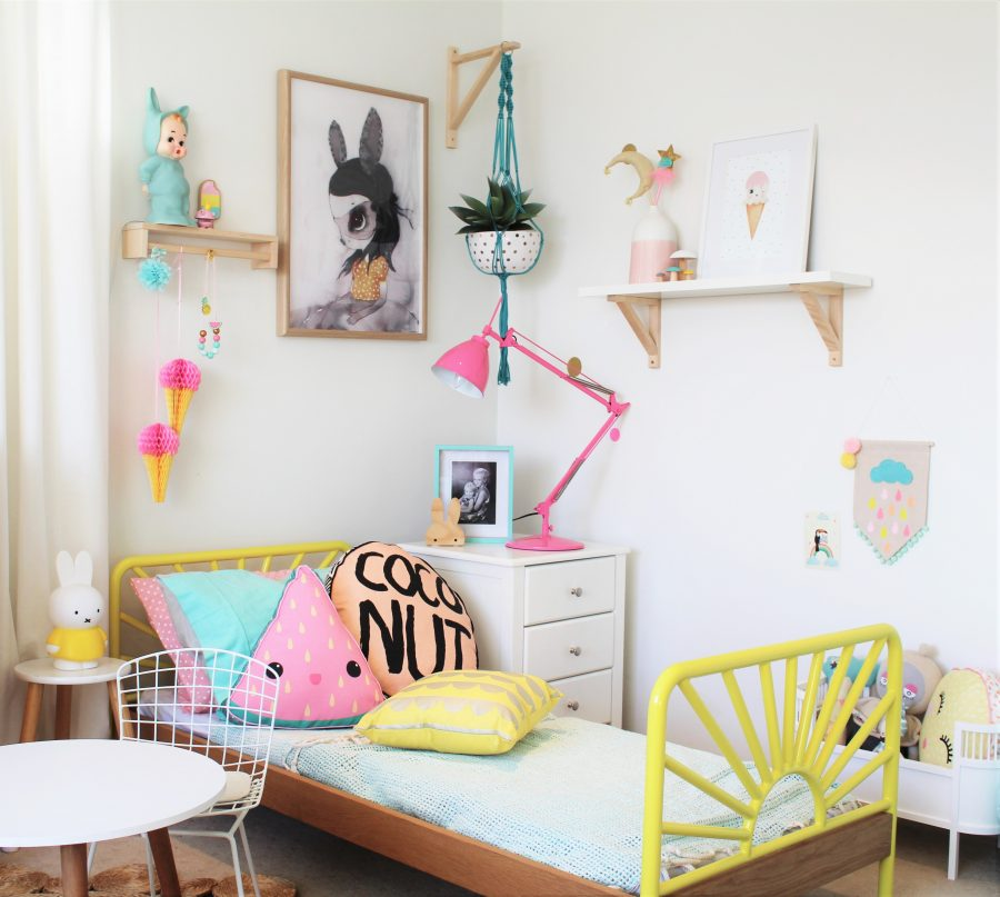 A Colourful Kids Bedroom that Toddlers Love!