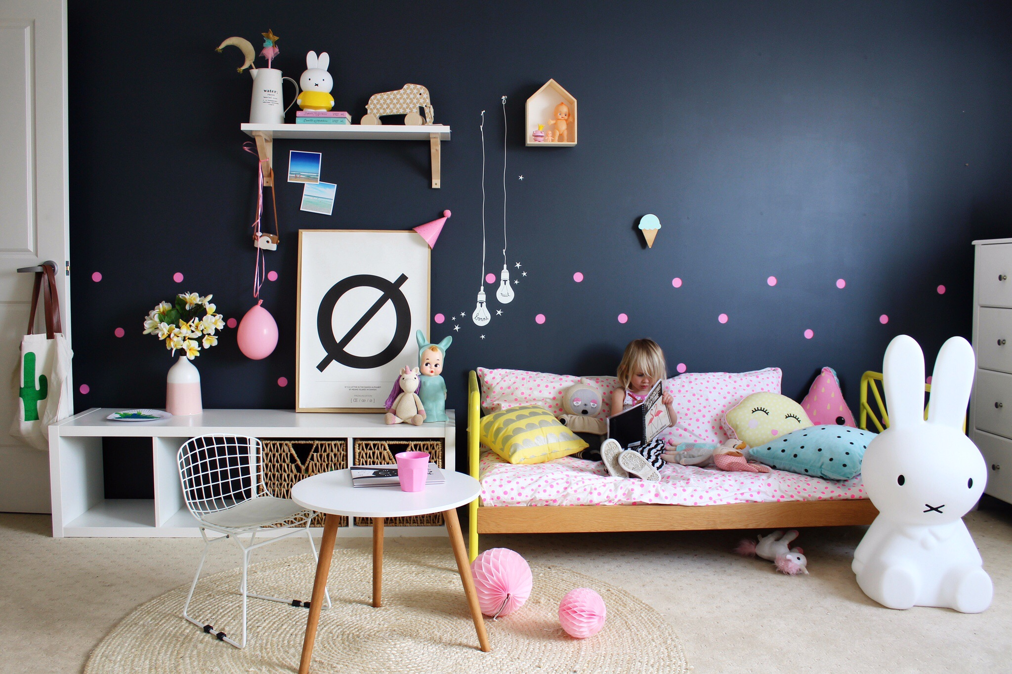 Kids' bedroom ideas - interiors and decor - MIMI'lou feature on www.fourcheekymonkeys.com