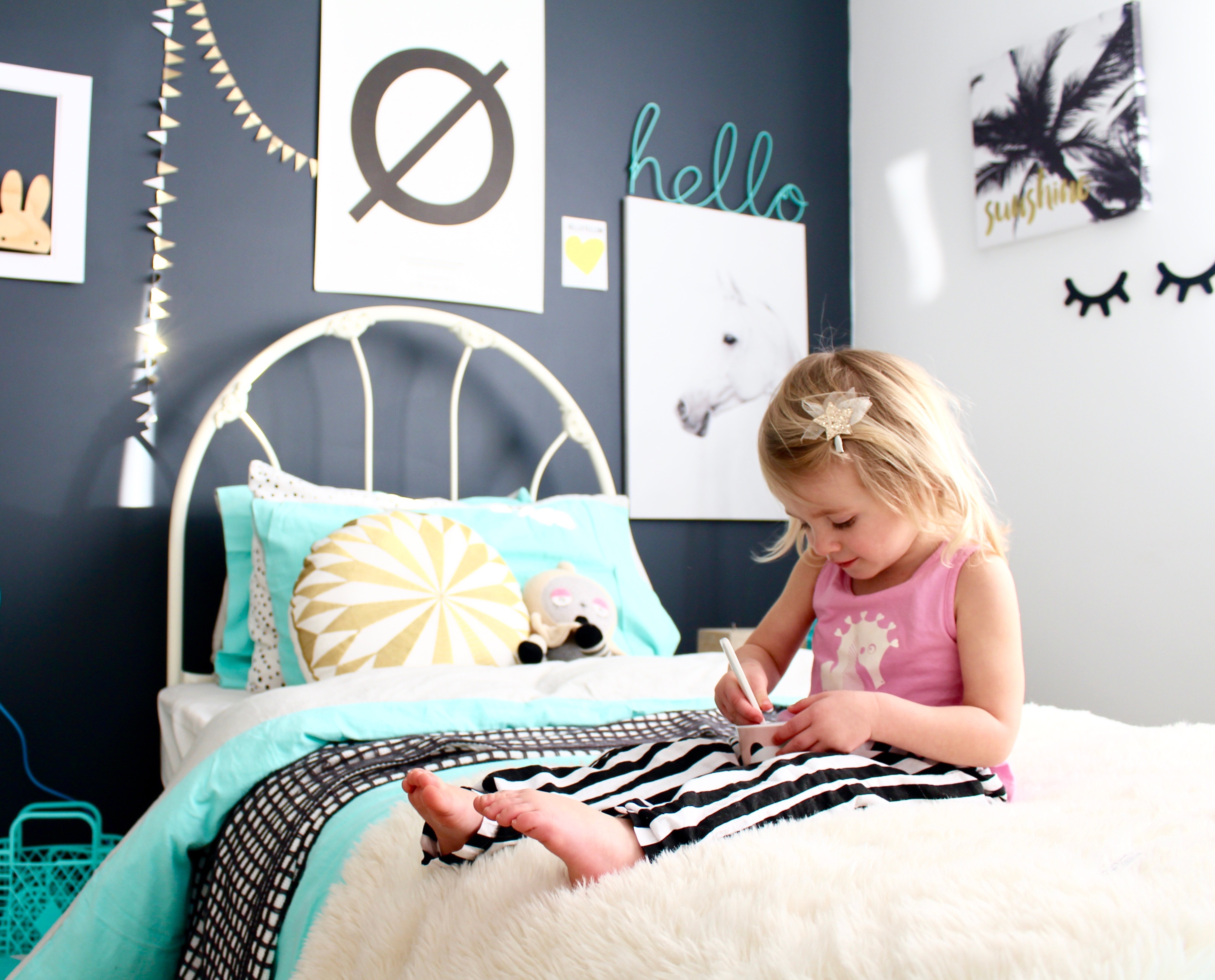 Kids bedroom and decor blog ~ four cheeky monkeys