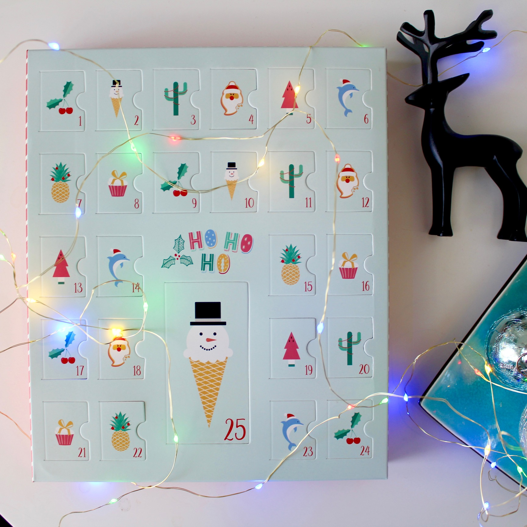 Sugar free advent calendar - git ideas on the blog