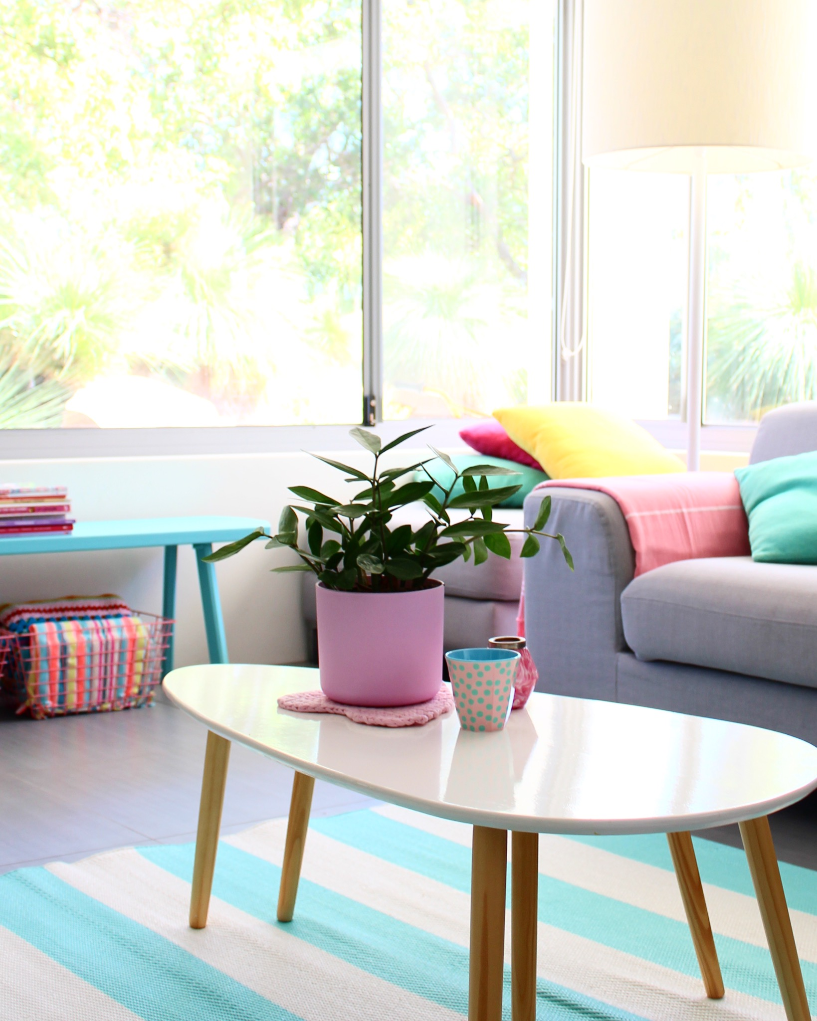 Home decor ideas - aussie home tour pastel homes