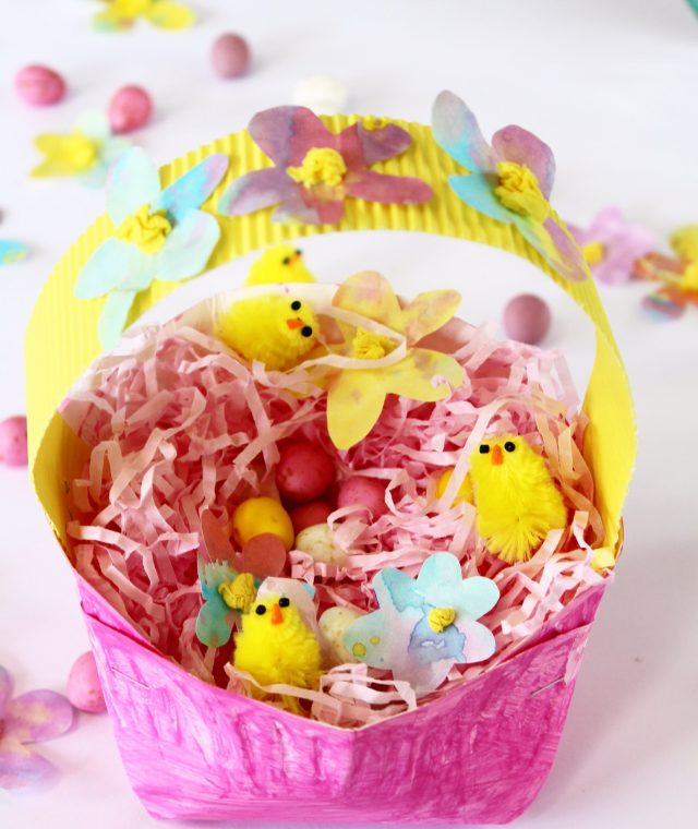 Easter basket craft ideas - great for fine motor
