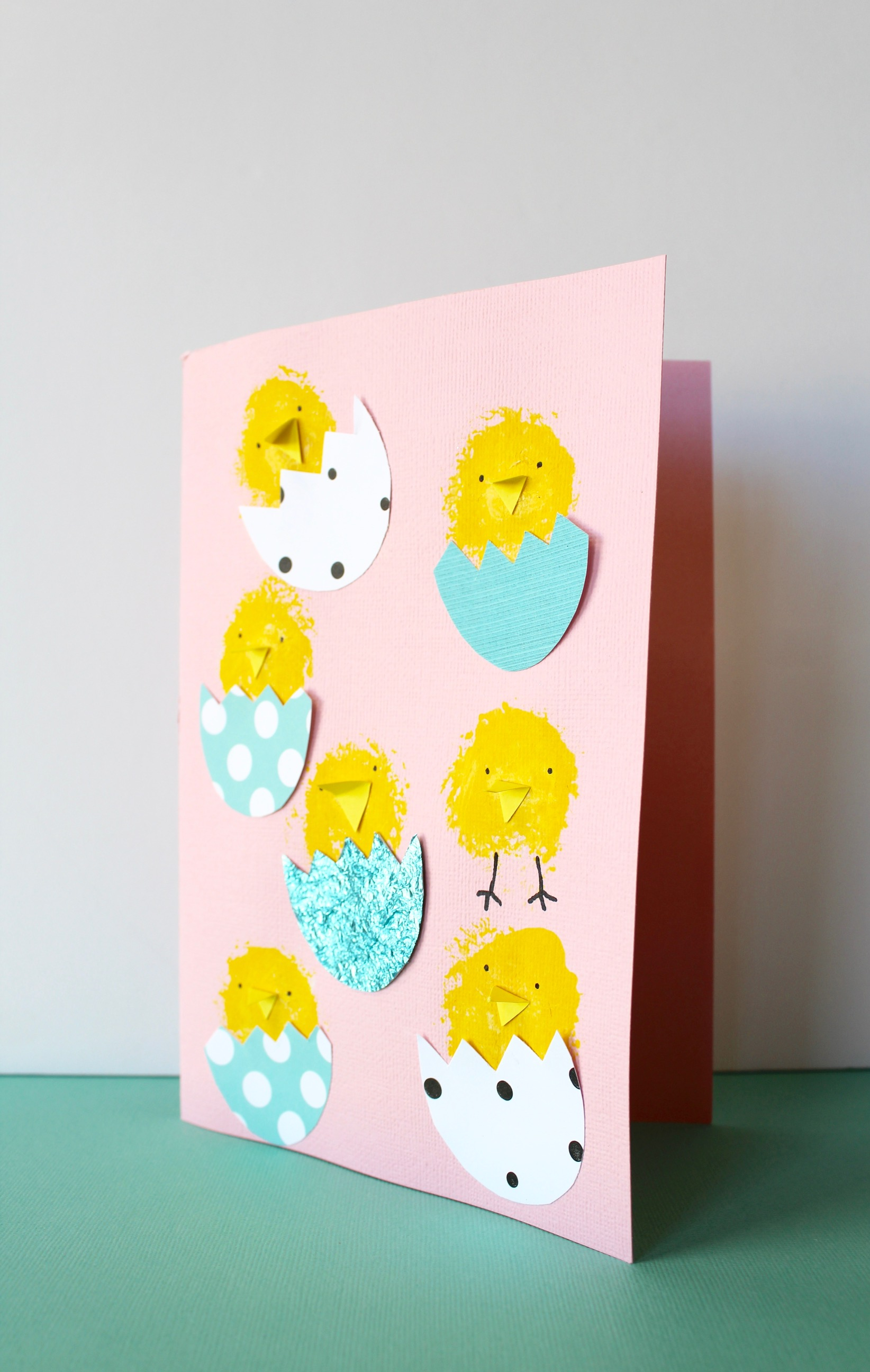 Easter Card Craft Activity For Kids Four Cheeky Monkeys
