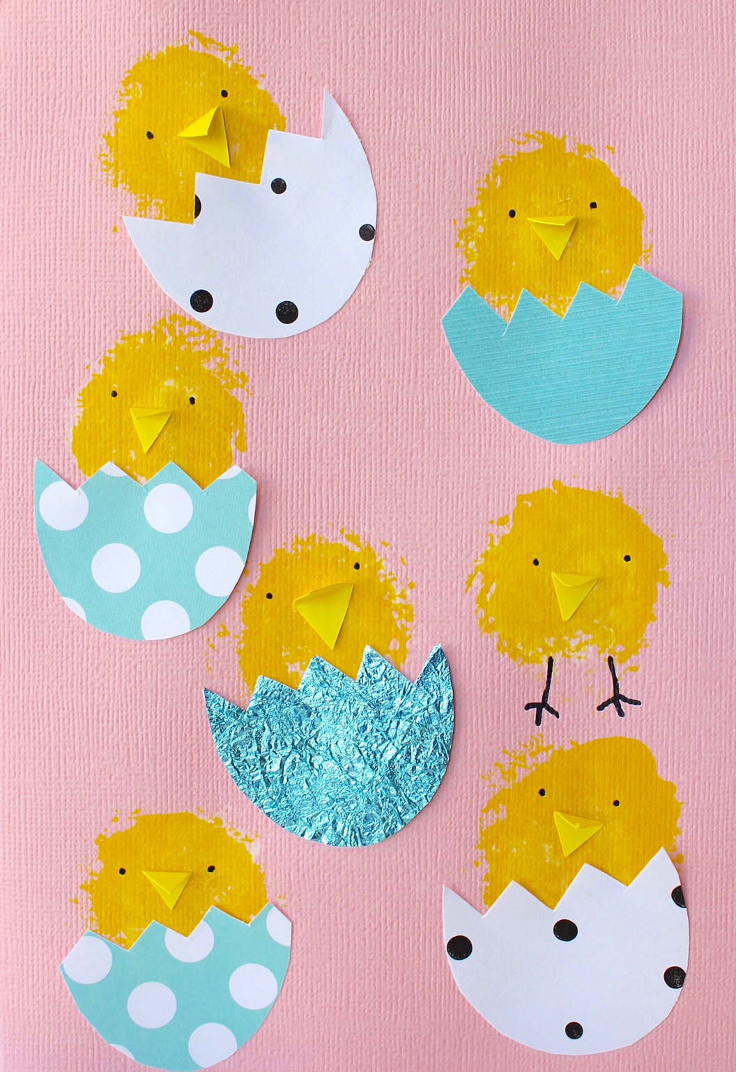 craft for kids cute easter card ideas four cheeky monkeys