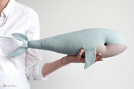 Adorable Handmade Whale OOAK Kids decor – by Sun and Co more on the blog