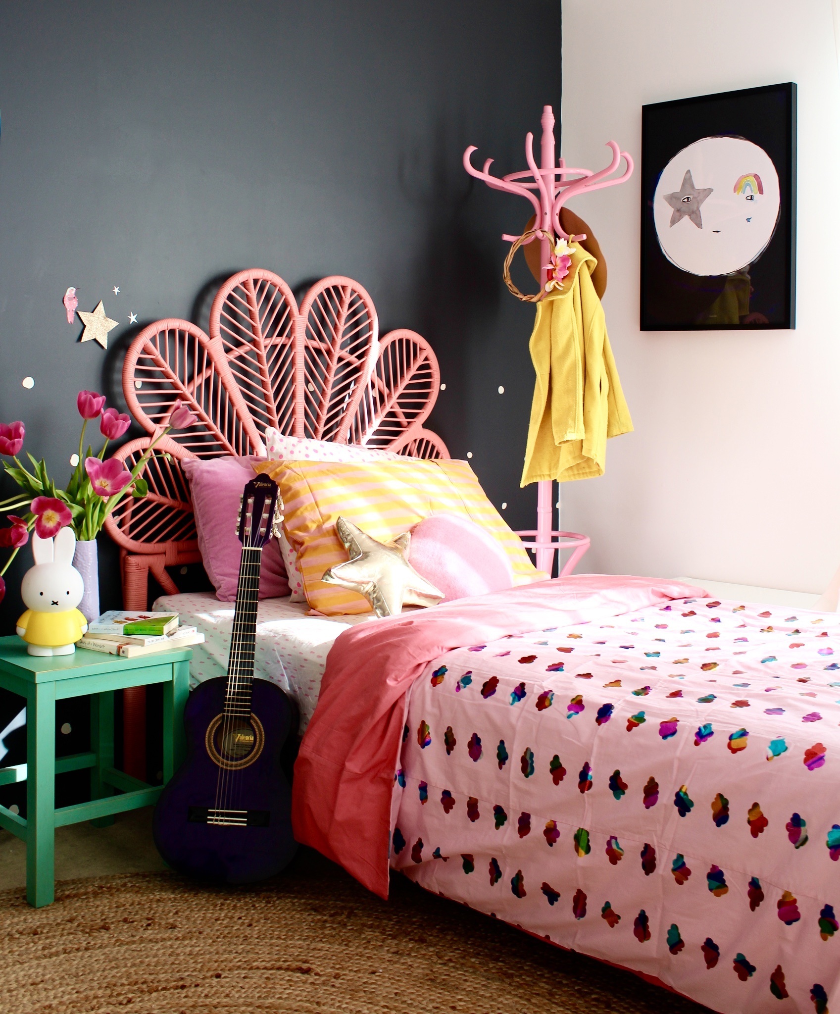 Fun Girl Room: Fun Colourful Spaces For Kids Bedrooms