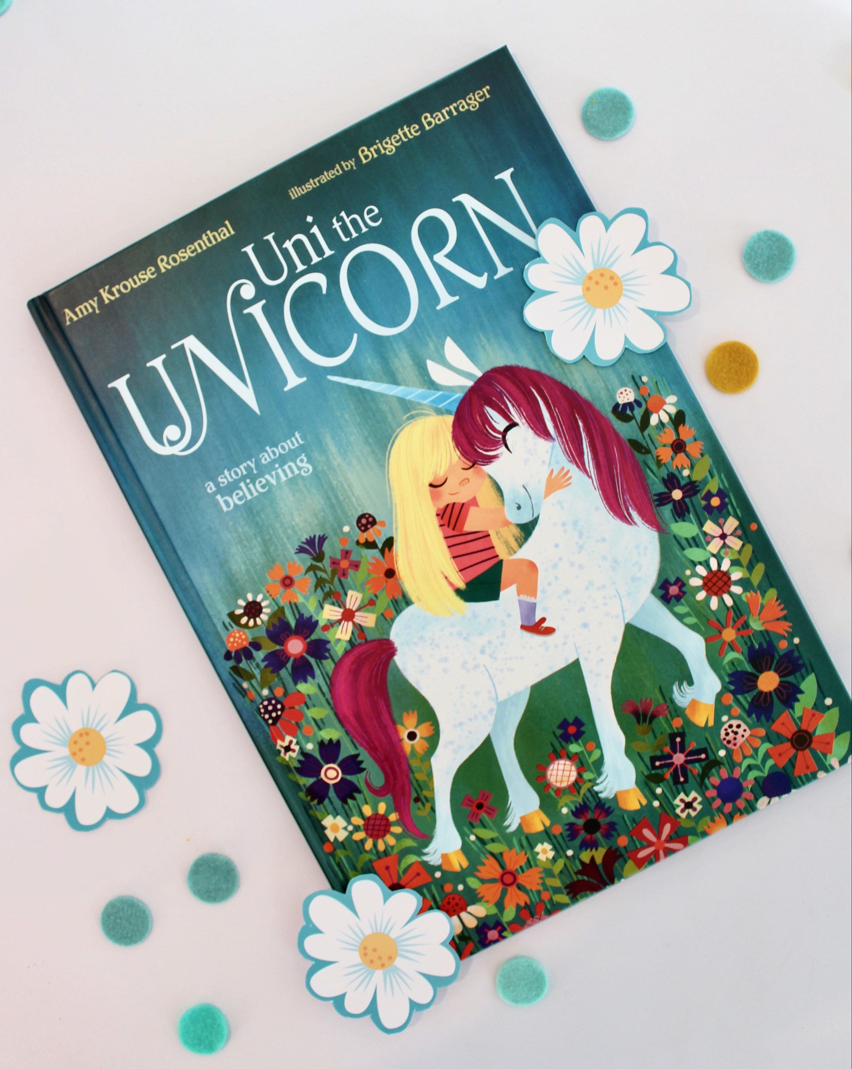 Uni the Unicorn Craft and literacy activities for kids