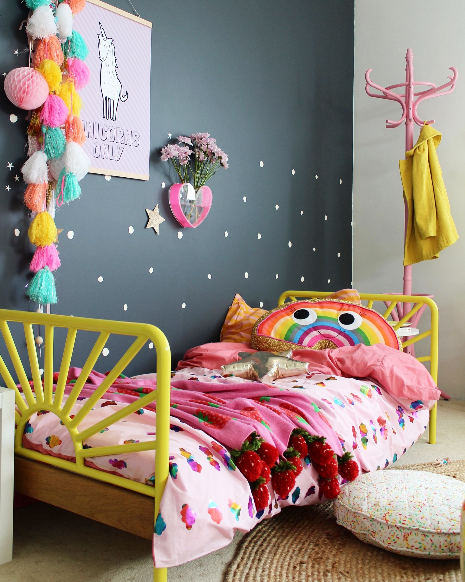 Kids bedroom ideas | cool toddler rooms, more pics on the blog