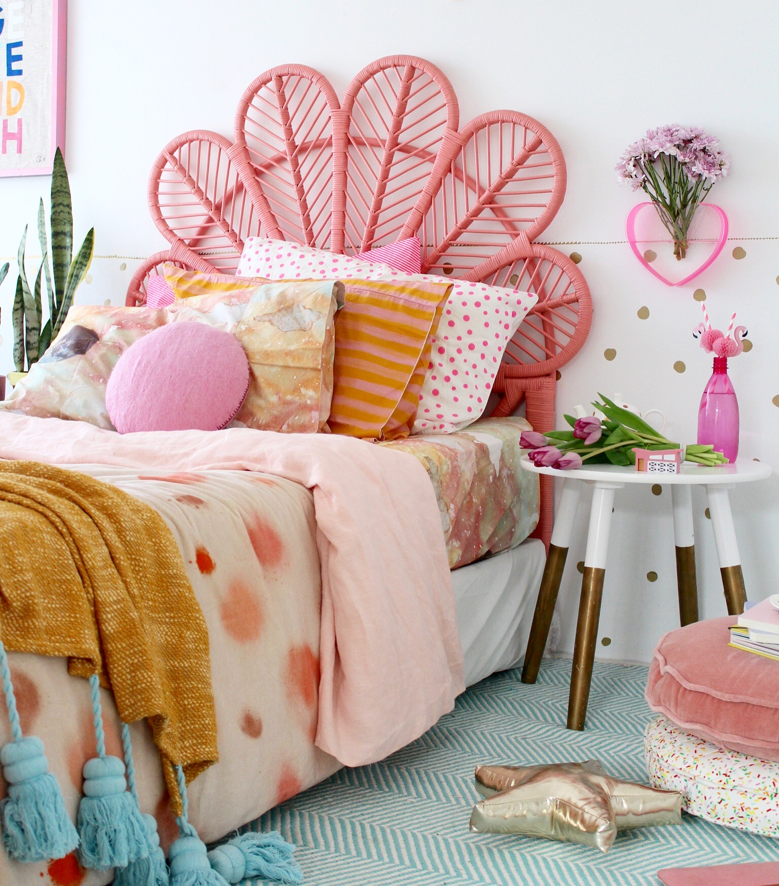 Modern Boho Bedroom Ideas Colour Crush With Kip And Co More On The Blog