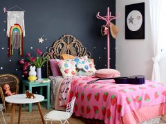 girls bedroom ideas - cool boho for kids Love this look! more on the blog