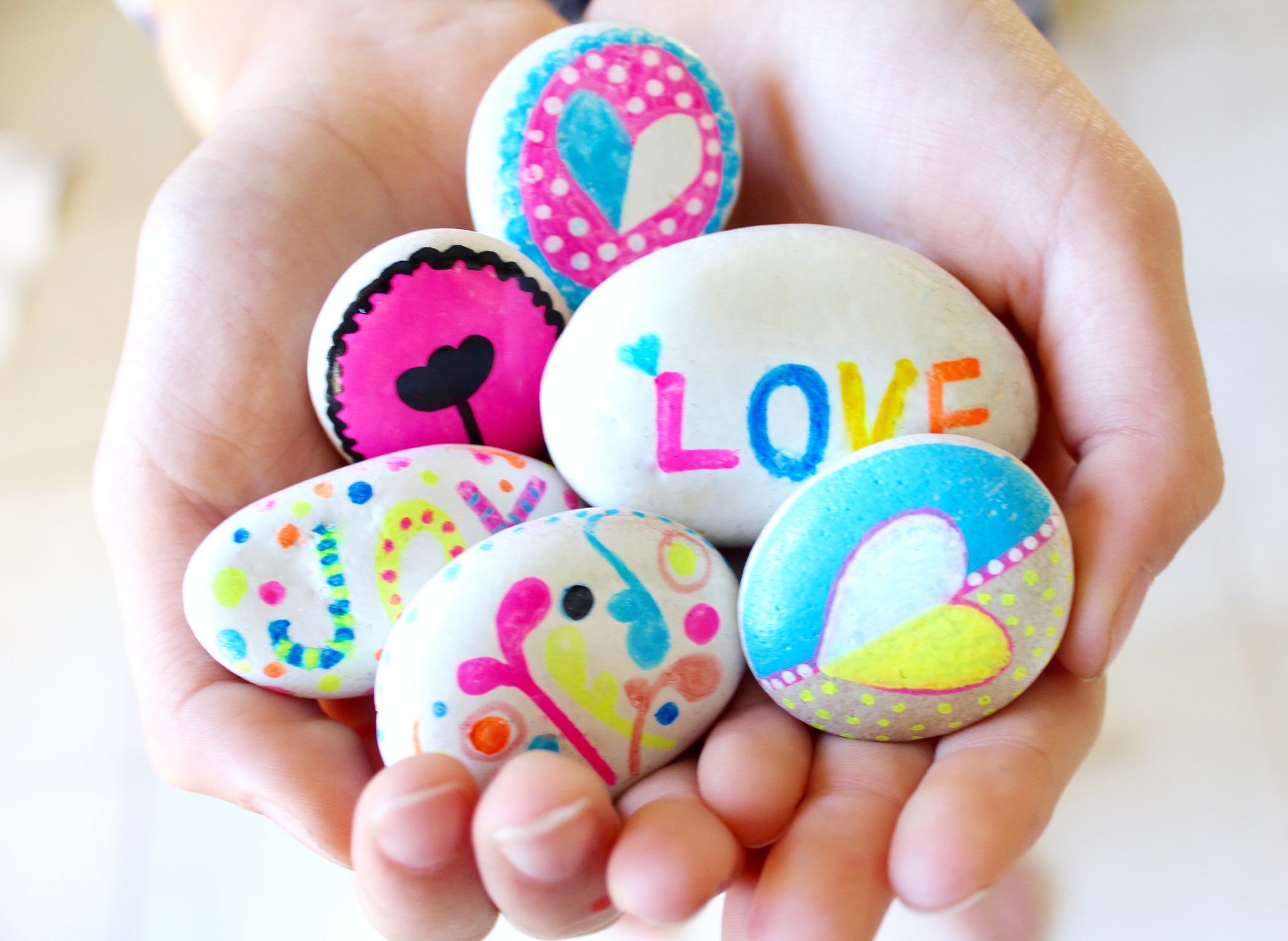 Rock painting ideas for kids Fun painting ideas for toddlers