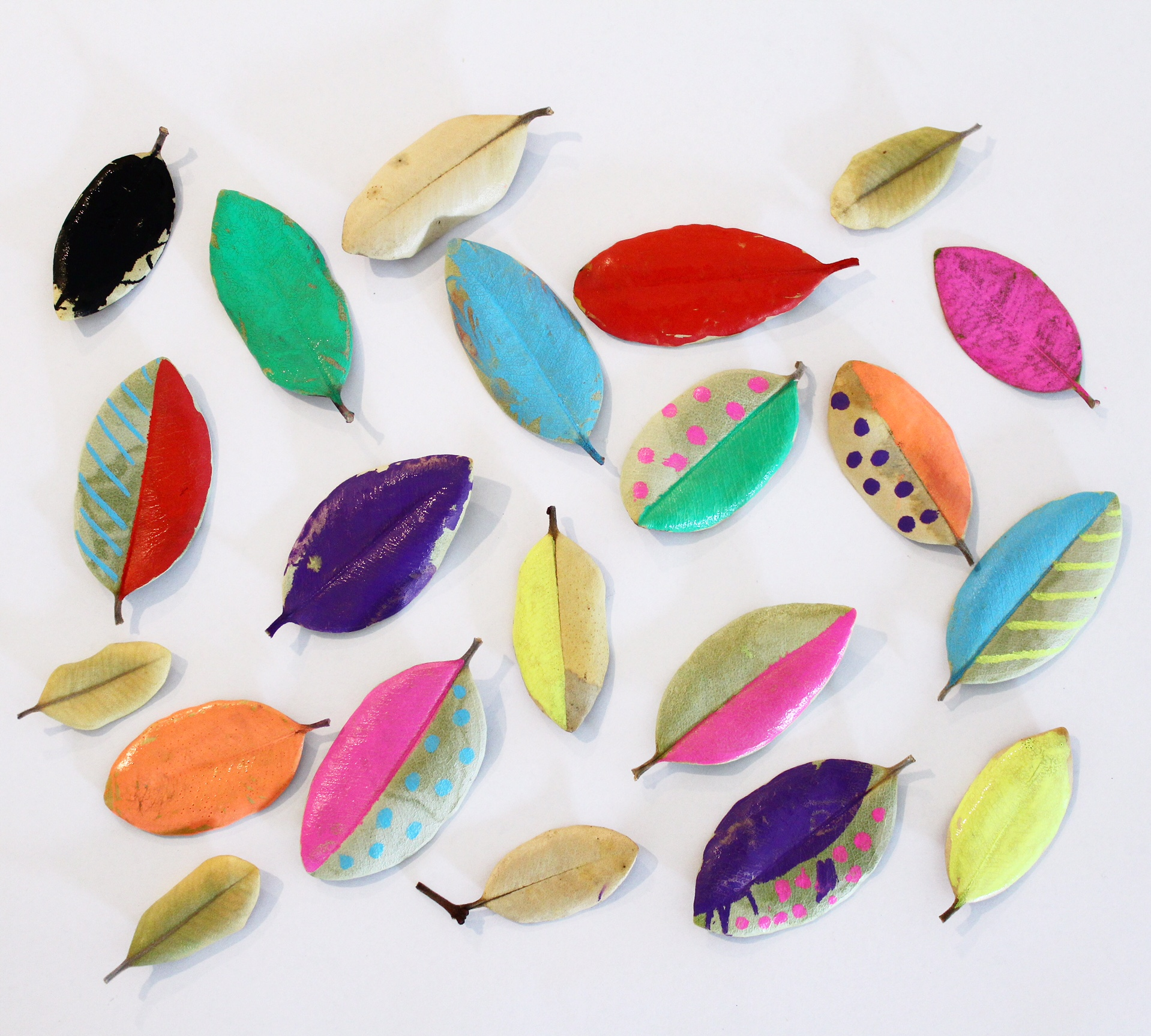 nature art | leaf process art for kids | more activities on the blog