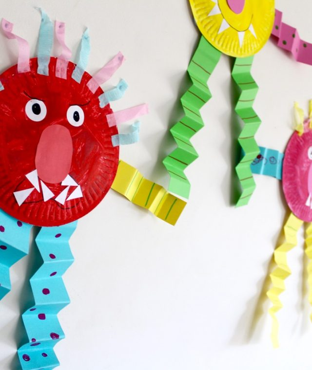 Feelings activities and ideas for kids and toddlers | Glad monster Sad Monster - free printable