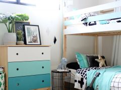IKEA Mydal Bunk Bed Hack - kids bedroom ideas for boys