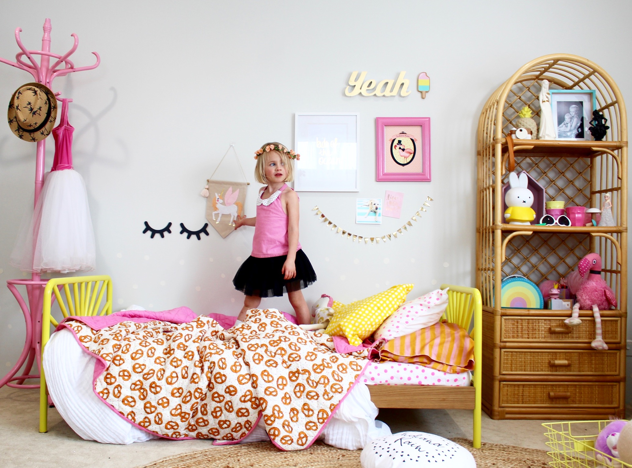 cool bedding for kids bedrooms // more kip and co goodness on the blog!