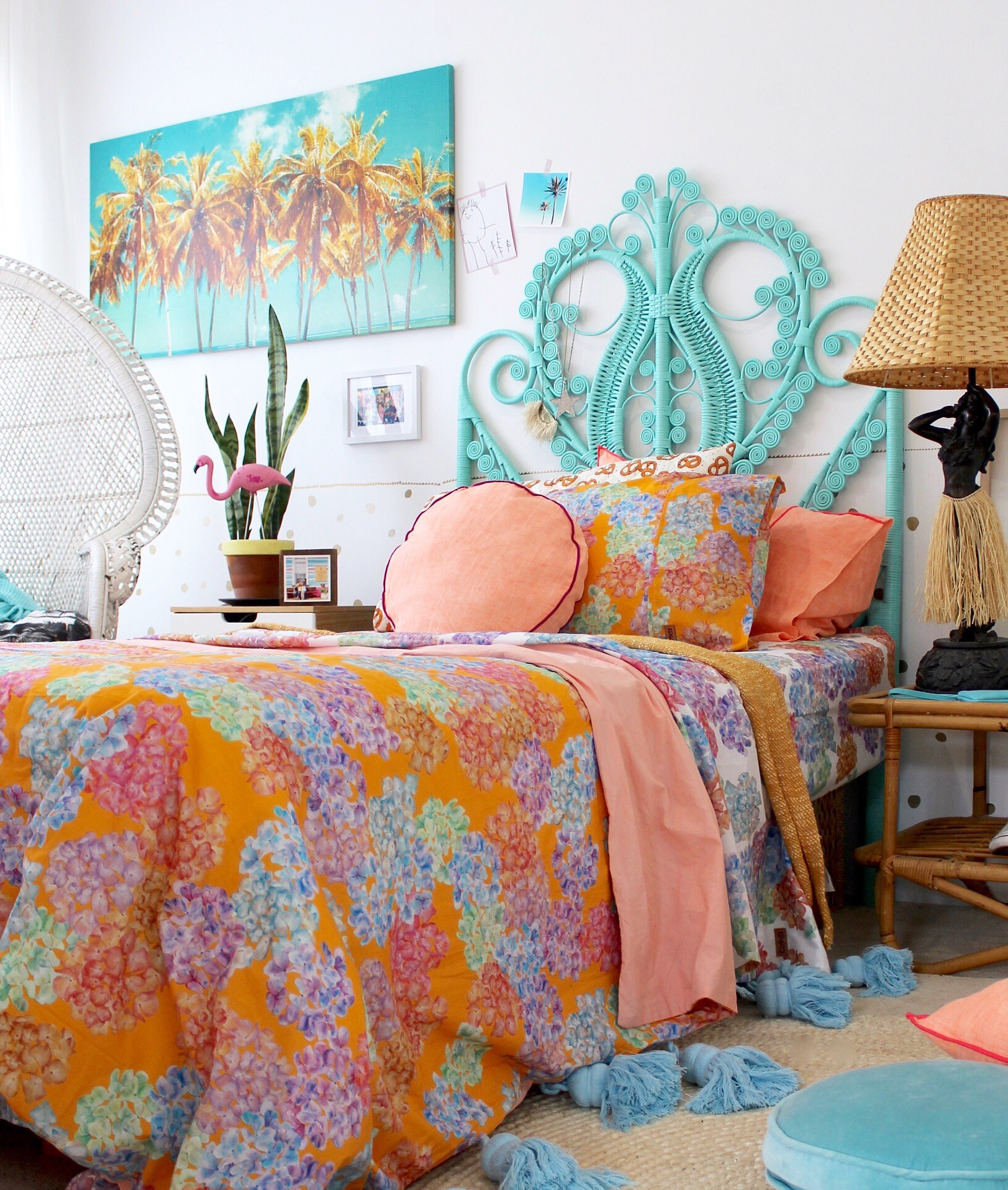 kids bedroom ideas | trending bedroom decor ideas for girls // boho brights more on the blog!